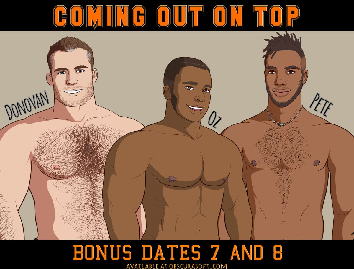 Coming Out On Top  A Gay Dating Sim Video Game by Obscurasoft